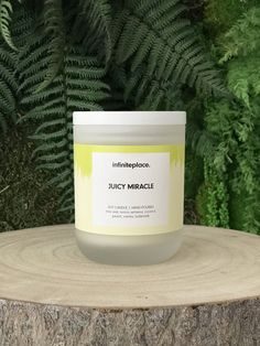 Handmade natural soy candle.  #soycandles #soycandle #candles #etsy #candlesaesthetic Natural Candles, Soy Candles, Candle Jars, Handmade Candles, Handmade Gifts, Verbena, Wax, Lime, Coconut