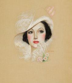 Charles Gates Sheldon (1889-1961) —  Delores Del Rio (841x959)