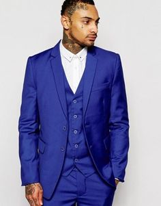 Rogues of London Suit Jacket in Skinny Fit