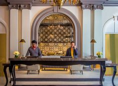 Renovated Warwick San Francisco #hotel welcomes guests, diners