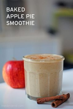 This Balancing Baked Apple Pie Smoothie incorporates some healthy Omega 3 and 6 oils. http://theblenderist.com