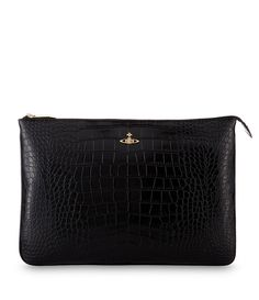 Jungle Crocodile Pouch 6852 Black