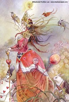 www.fb.com/madamastrology offers- Complete Free Natal Chart and Free Tarot Readings! The Queen of Spades Sends Her Regards - by Stephanie Pui-Mun Law