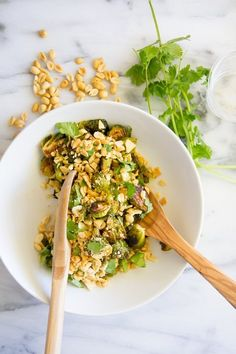 This Recipe for Crispy Thai Brussels Sprouts Is My Next Side Dish — Delicious Links