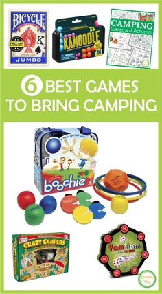 6 Best Games to Bring Camping - Growing Play Rv Camping Checklist, Camping Games, Camping Essentials, Camping Equipment, Camping Meals, Tent Camping, Outdoor Camping, Camping Tips, Camping Recipes