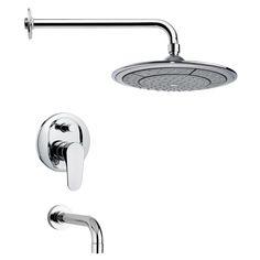 Peleo Pressure Balance Tub and Shower Faucet