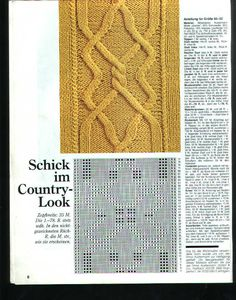 Burda 1991 3 Maschenmuster - Isabela - Knitting 2 - Picasa Web Albums