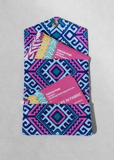 Case Business Card Credit Card Wallet Cardholder by mylifeinfabric #businesscards #businesscardcase #businesscardholder #businesscardwallet #creditcards #creditcardcase #creditcardholder #creditcardwallet #aztecprint