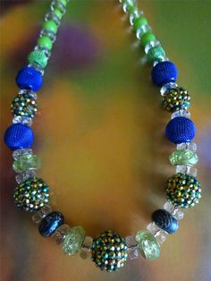 Dreamscape Beaded Necklace   Jewelry   Beaded by pendantparadise, $17.00