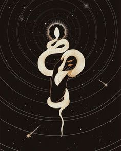 Sacred snake by cocorrina snake art, snake tattoo, snake wallpaper, collages, art Dark Fantasy, Fantasy Art, Snake Wallpaper, Snake Art, Illustration Vector, Occult Art, Graphic, Dark Art, Oeuvre D'art