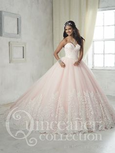 The Quinceanera Collection offers elegant quinceanera dresses, 15 dresses, and vestidos de quinceanera! These pretty quince dresses are perfect for your party! Xv Dresses, Quince Dresses, Ball Gown Dresses, Tulle Ball Gown, Pageant Dresses, Long Dresses, Turquoise Quinceanera Dresses, Pretty Quinceanera Dresses, Sweet 16 Dresses