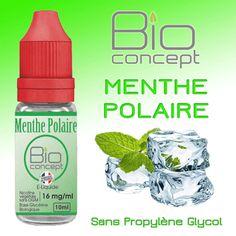 E-liquide 10ml BIO CONCEPT MENTHE POLAIRE