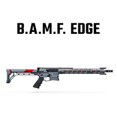 The B.A.M.F. EDGE is the next stage in the evolution of our breakthrough AR.  A series of subtle, yet substantial enhancements push the B.A.M.F. envelope to deliver even more precision, attitude and performance. The B.A.M.F. EDGE offers optional barrel lengths, Cobalt Kinetics' custom compensator and signature butt stock, and more.