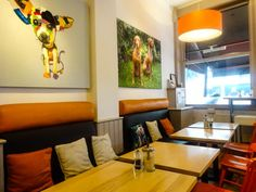 Cafe Tamra, Dog Friendly Cafe in Clapham, Greater London
