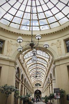 The Galerie Vivienne, Paris, France