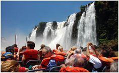 Iguazu Falls.  I've heard there are wonderful exotic butterflies to see...