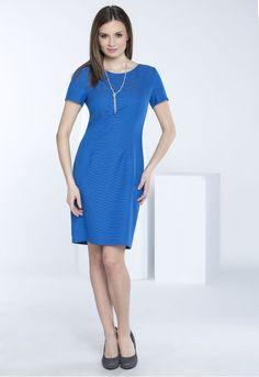 Sukienka z drobnym wzorem