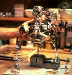 stop motion animation puppets | Terminator 1984 - Stop Motion Puppet Endoskeleton