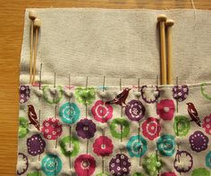 Knitting Needle Case - Tutorial | Guthrie & Ghani