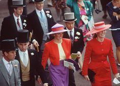 140-Prince Charles, Prince Andrew, Princess Diana and Sarah Duchess of York