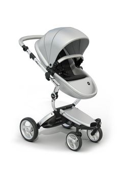 Mima Xari Stroller Authorized Seller ( Aluminum Chassis, Argento seat, Black Starter Pack -- Awesome products selected by Anna Churchill