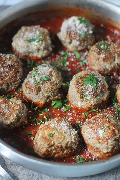 The Best Spaghetti and Meatballs in the World (No lie!) - I've had more people than I can count tell me these are the best spaghetti and meatballs they've ever had!