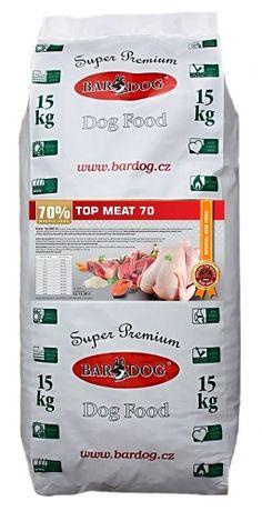 Soutěž o 4,5 kg granulí Bardog - Top Meat 70