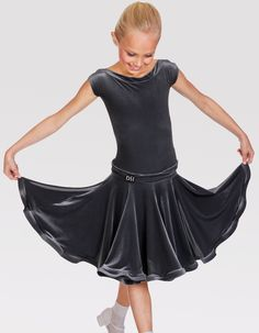 DSI Kayleigh Juvenile Ballroom Dance Dress 1088J| Dancesport Fashion @ DanceShopper.com