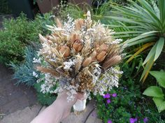 Items similar to Dried Flower Wedding Bouquet on Etsy Dried Flower Bouquet, Flower Bouquet Wedding, Dried Flowers, Engagement, Unique Jewelry, Handmade Gifts, Plants, Etsy, Kid Craft Gifts