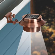 Buy 1 Get 1 Free! Solar Gutter Lights - Copper | Outdoor Lighting | Outdoor Home Care | www.qcidirect.com