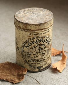 love old tins