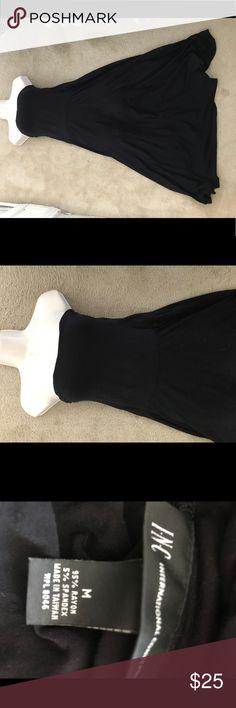 INC convertible maxi skirt dress size medium black INC convertible maxi skirt dress. Size medium. Black. Excellent condition INC International Concepts Skirts Maxi