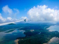 Flying over Phuket