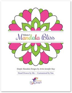 Simple mandala coloring page designs printed on artist quality paper. Mandala Coloring Pages, Adult Coloring Pages, Coloring Books, Simple Mandala, Paper Stand, Light Texture, Colored Paper, Simple Shapes