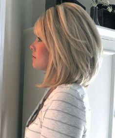 Looking for stacked bob hairstyles? Find stacked bob hairstyles pictures for graduated, fine hair, long hair, and layered hairstyles. Stacked Bob Hairstyles, Bob Hairstyles With Bangs, Long Bob Haircuts, 2015 Hairstyles, Simple Hairstyles, Haircut Long, Layered Haircuts, Angled Haircut, Bangs Hairstyle