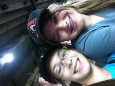Me n my bestie at the d-backs game!