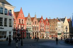Bruges. It's a f* fairytale. (See the movie In Bruges and you'll get it.)
