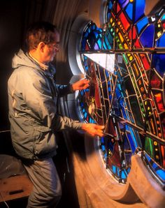 Washington National Cathedral : Dieter Goldkuhle, Stained Glass Artist