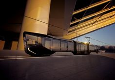 This is a new Tram R1.  Design and modeling by A. Maslov http://alexeymaslov.ru/I work at visualization.http://r1.uvz.ru/en/