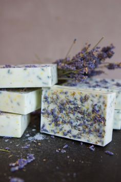 Lavender Honey Lemon DIY Soap | AllFreeDIYWeddings.com