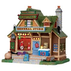 "Lemax 11"" Porcelain Village Building Deer Creek General Store ($36.99 Ace Hardware)"