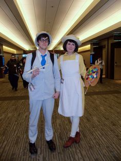 Jiro Horikoshi and Nahoko Satomi by 93FangShadow