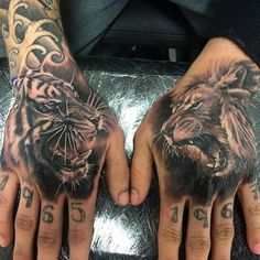 13 Best Lion Hand Tattoo Images In 2018 Tattoo Ideas Lion Hand