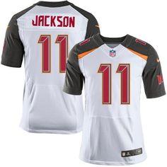 Nike Men's Buccaneers #11 DeSean Jackson White Stitched NFL New Elite Jersey