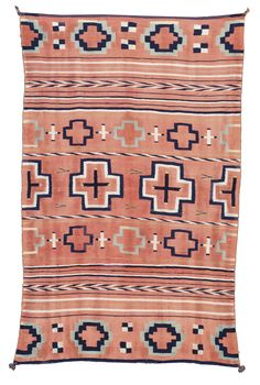 LATE CLASSIC NAVAJO CHILD'S BLANKET