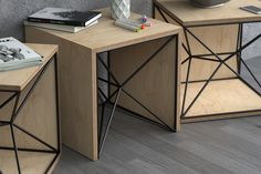 X-1 SIDE TABLE on Behance
