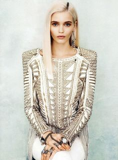 abbey lee kershaw, be yourself, blonde, eyes