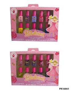 Pinkalicious Scented Nail Polish set includes 10 mini polishes!