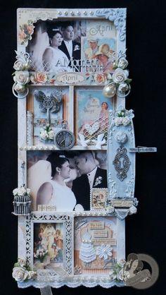 Altered shadow box - Wedding Style.