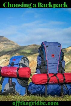 Look at these tips on choosing a new backpack.